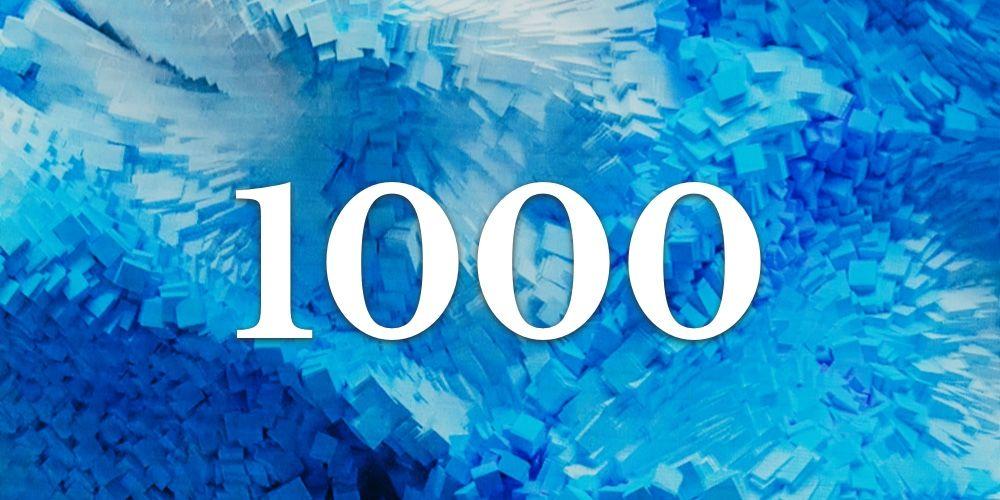 Significado do Número 1000