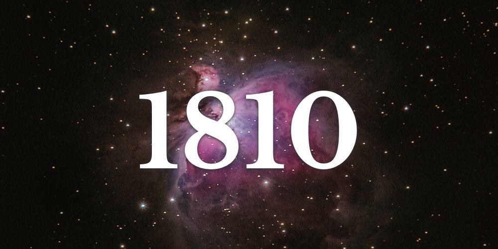 Os Segredos do Número 1810 - Numerologia dos Anjos