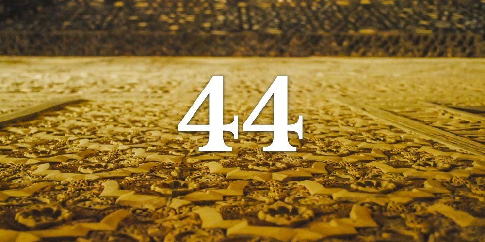 Os Segredos do Número Mestre 44