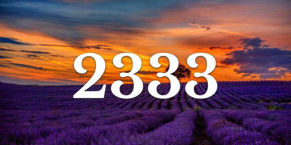 Numerologia do 2333 - Você vê 2333 em todo lugar?
