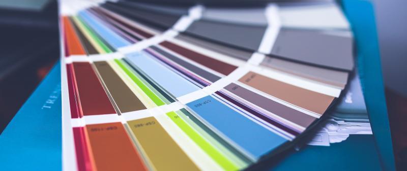 Paleta de cores para empresa