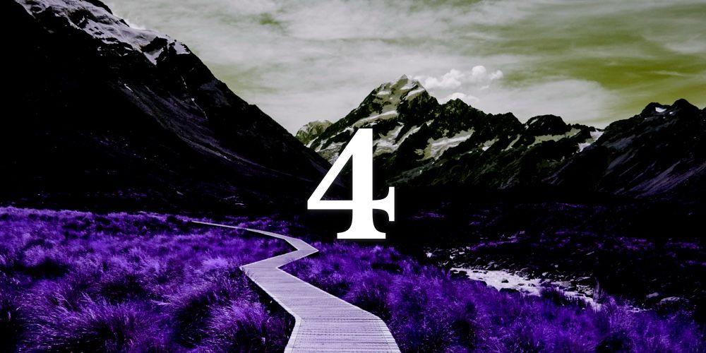 Significados do Número de Destino 4