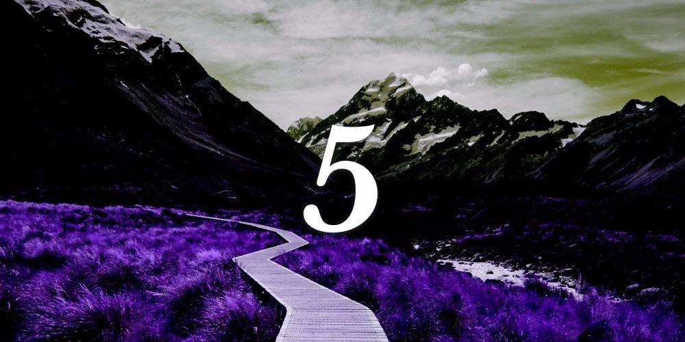 Significados do Número de Destino 5