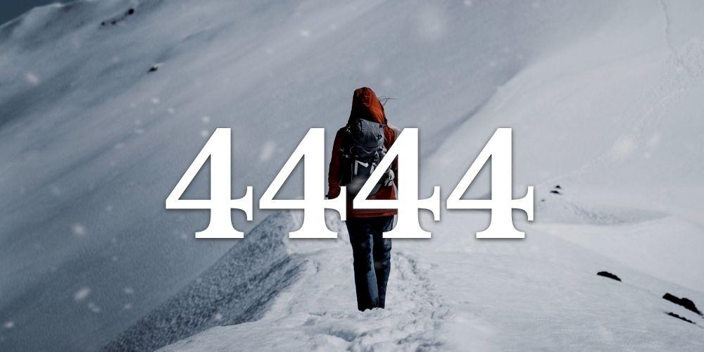 Numerologia do 4444 - Você vê 4444 em todo lugar?