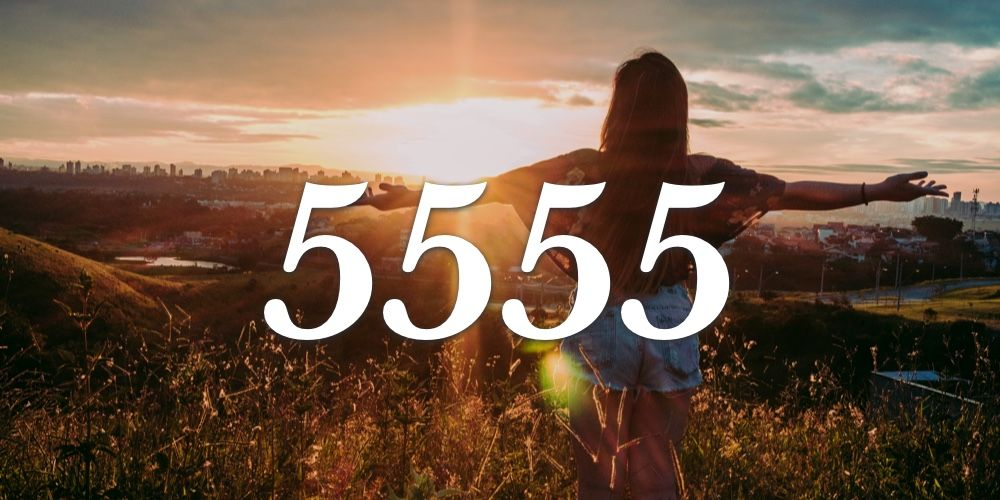 Numerologia do 5555 - Você vê 5555 em todo lugar?