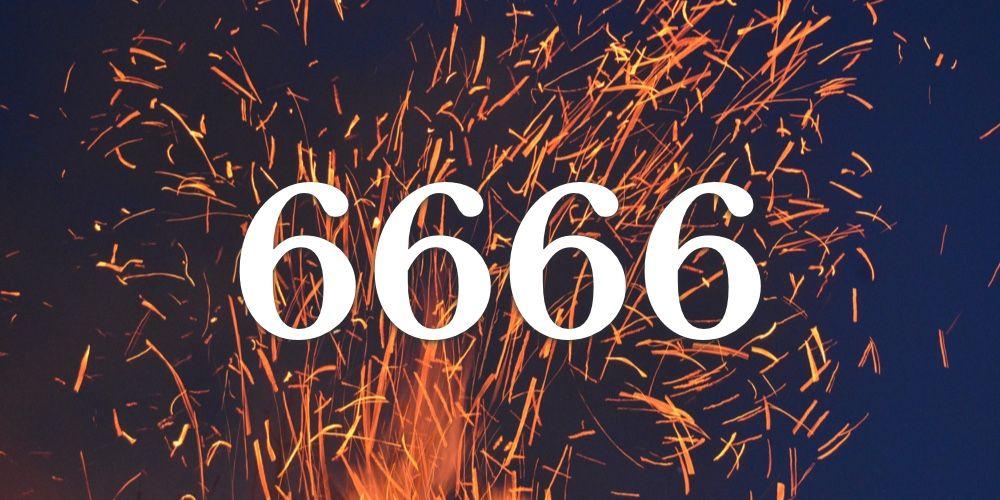 Numerologia do 6666 - Você vê 6666 em todo lugar?